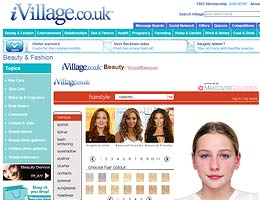 iVillage.co.uk - give yourself a Virtual Makeover