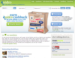 Quidco.com - king of cash back shopping