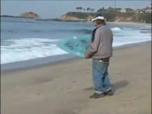 Drunked guy surfing