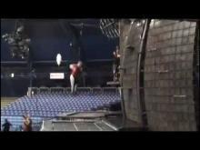 Oli Lemieux trampoline wall