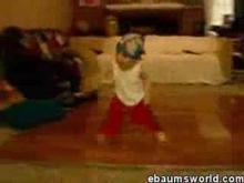 Baby break dance