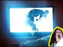 The Ring Style Wake Up Prank! - - Waking up to a Ghost coming out of TV screen - - The Grudge Prank!